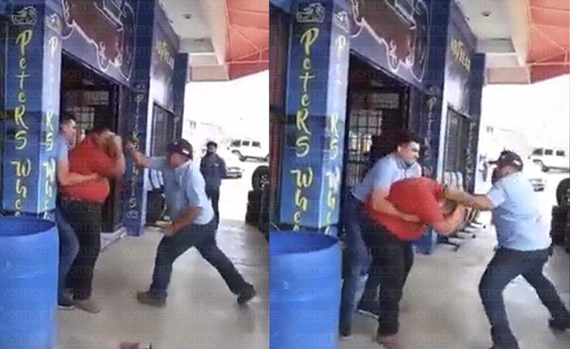 Cliente recibe golpiza de empleados tras exigir su garantía en Tuxtla