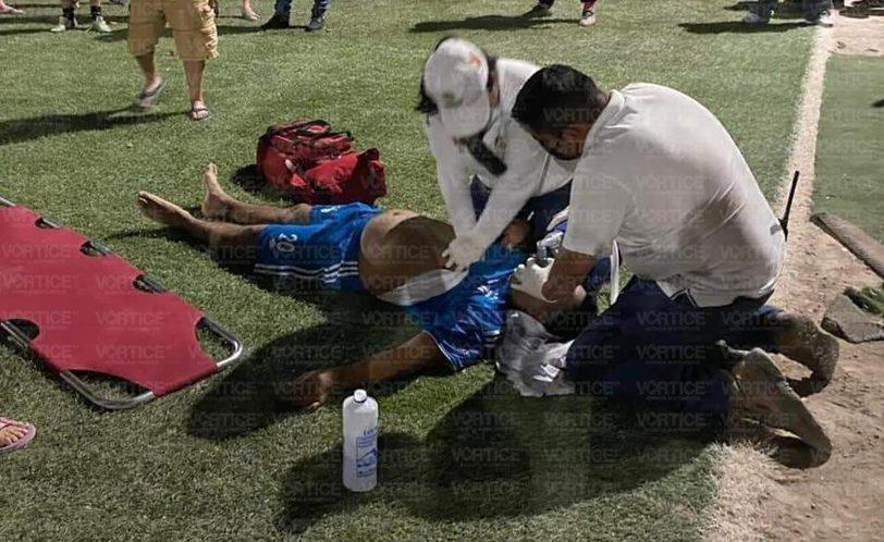 Fallece en el hospital futbolista que sufrió un infarto en la Shanka