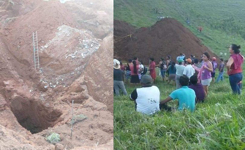 Hallan cadáveres enterrados en fosas clandestinas de Chiapas