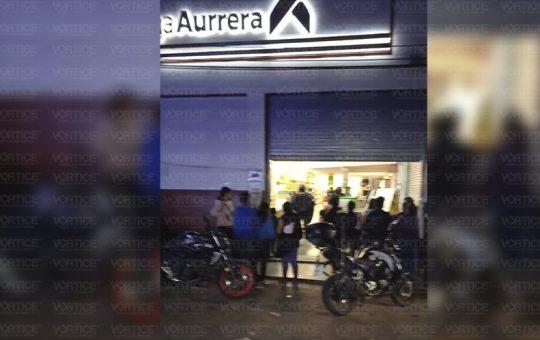 Reportan intento de robo en Bodega Aurrera del mercado en San Cristóbal