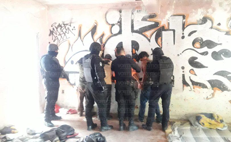 Detienen a cuatro personas tras intensa movilización policiaca en Tuxtla