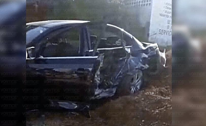 Se accidenta candidato del PVEM en Teopisca; hay dos heridos