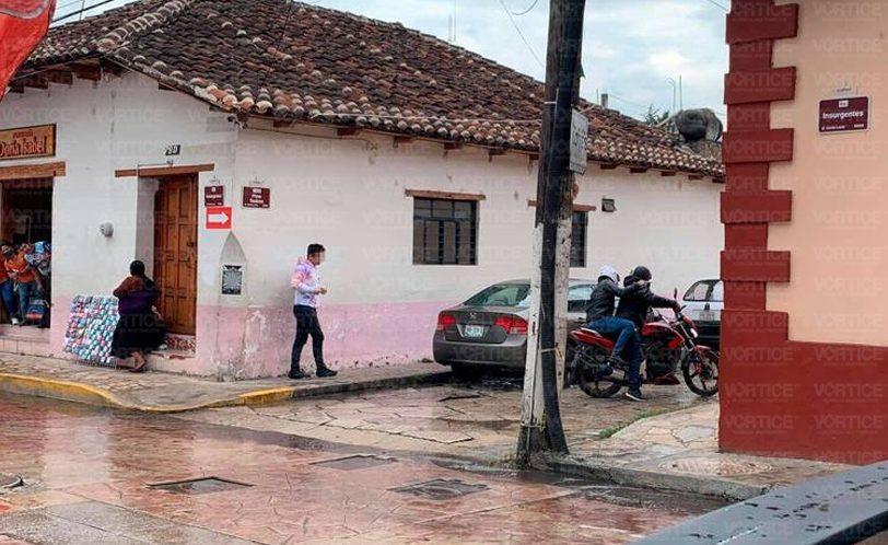 ¡Asalto en San Cristóbal! Roban 300 mil de la nómina de Huixtán