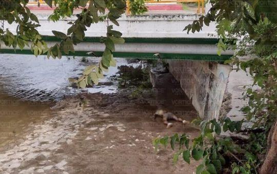 Fuertes lluvias arrastran a joven y localizan su cadáver en el Río Sabinal