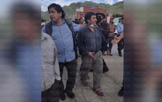 Tras marcha, liberan al pastor Alejandro Jiménez por falta de pruebas