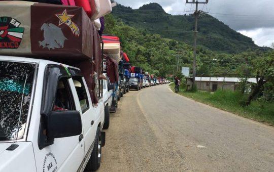 Retornan desplazados de San José del Carmen a Pantelhó