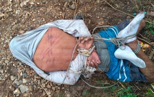 Azotan a presunto ladrón en Arroyo Blanco de Tuxtla