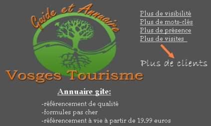 annuaire de gite dans le nord est de la France