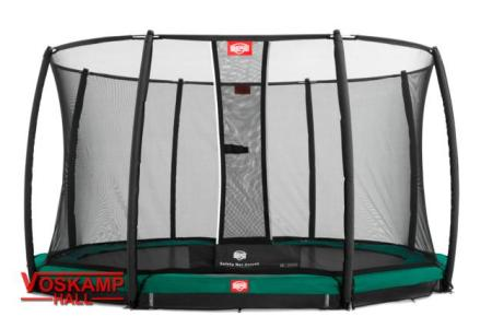 BERG InGround Favorit + Safety Net Deluxe 2015