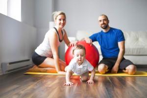 Физическое воспитание детей в семье