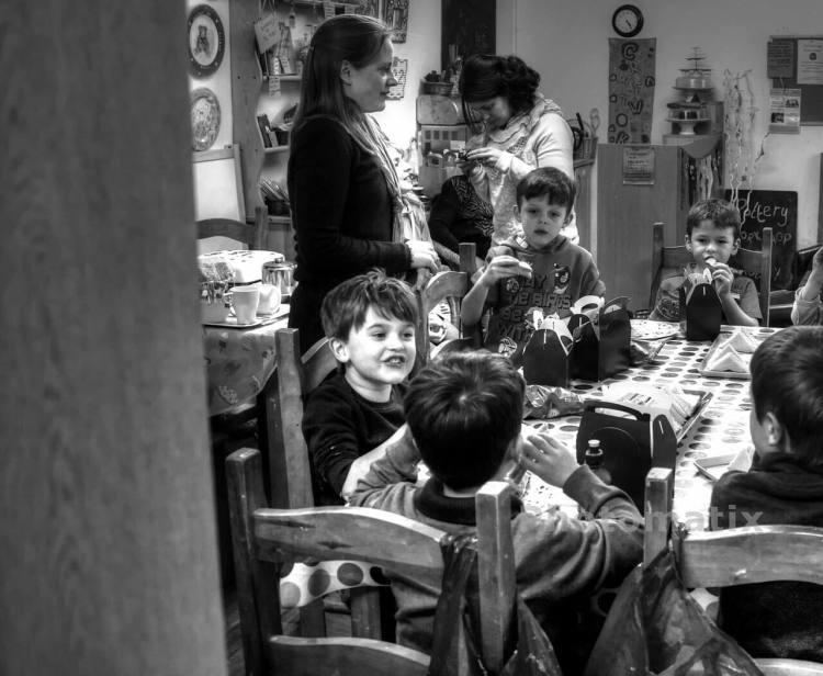 Поведение детей в привычной обстановке