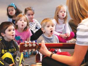 Основы музыкального воспитания дошкольников