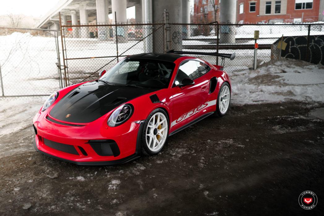 Porsche Gt3rs Vossen Forged Series 21 S21 01 Vossen