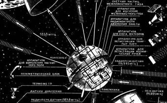 60 лет запуску АМС «Луна-1»