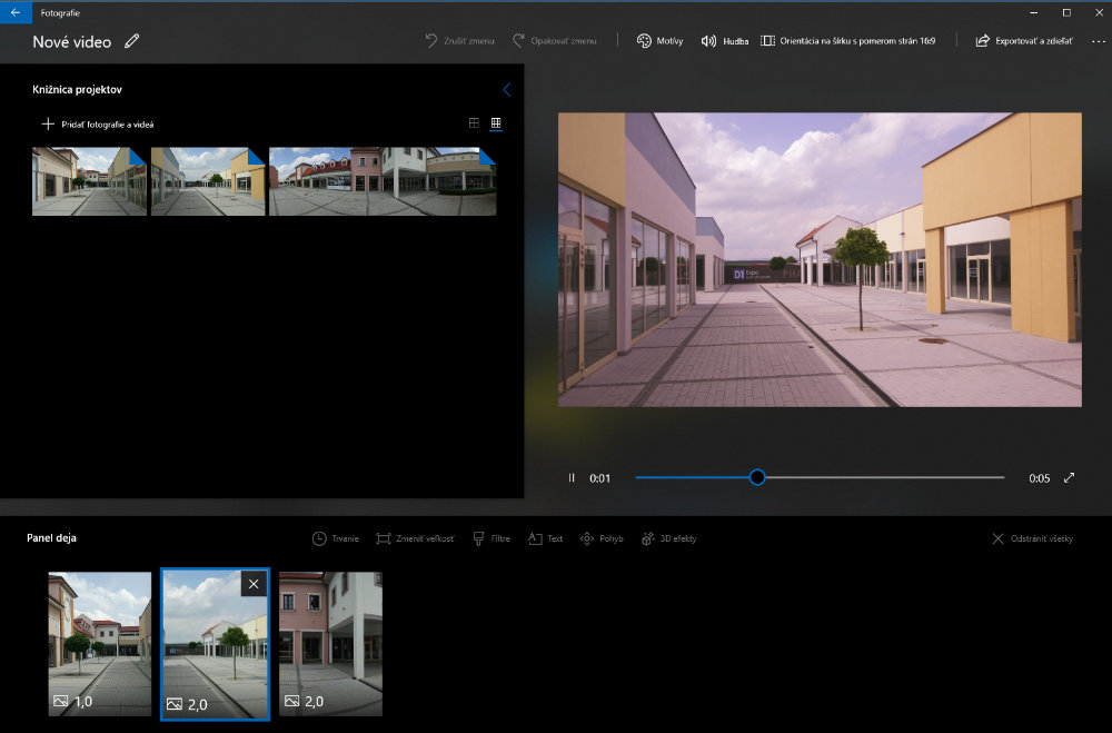 VIDEO EDITOR Windows 10_2