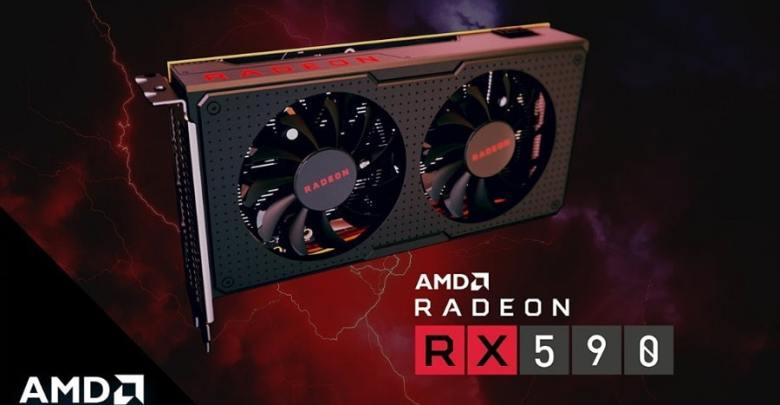 AMD RX 590 kraficka karta