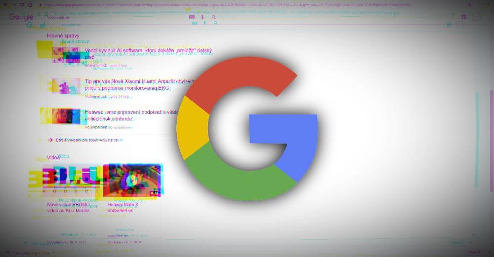 Google meni algoritmus vysledkov vyhladavania
