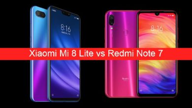 Xiaomi Mi 8 Lite vs Redmi Note 7