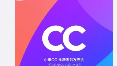Xiaomi Mi CC predstavenie