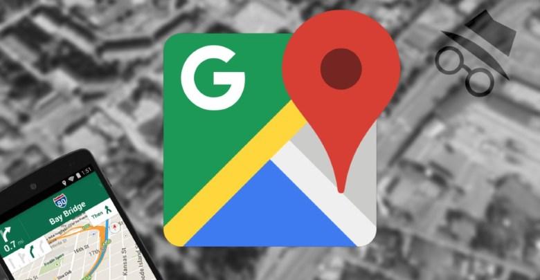 Google Mapy inkognito rezim