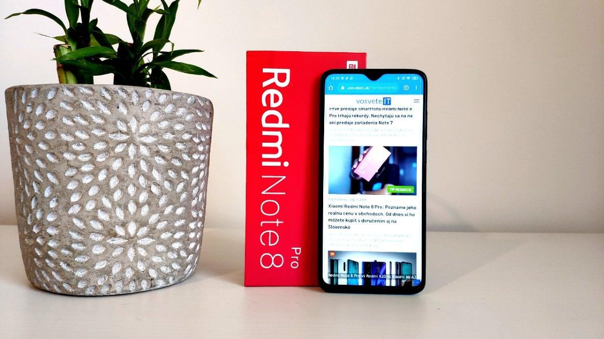 Redmi Note 8 Pro recenzia