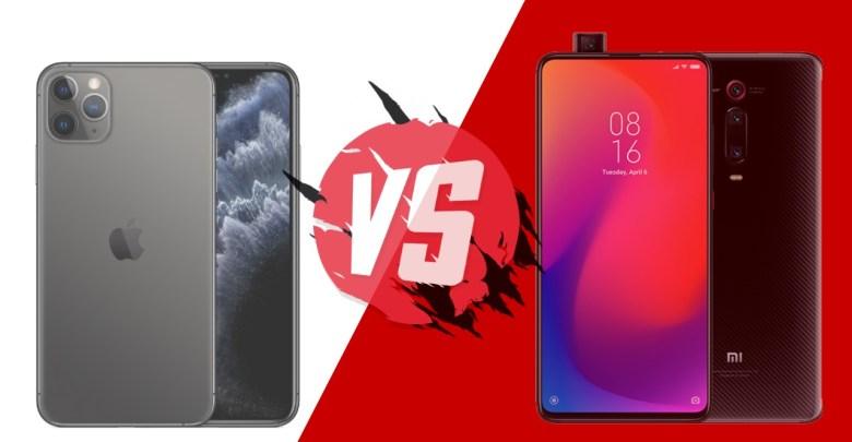 Xiaomi Mi 9T vs iPhone 11 Pro
