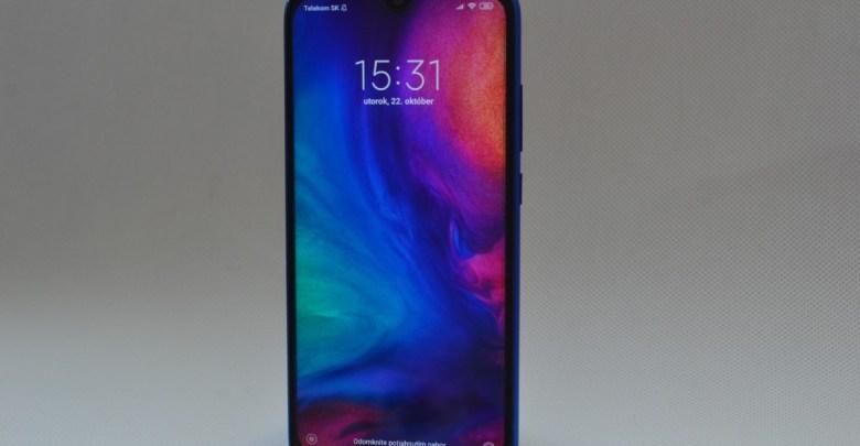 Xiaomi Redmi Note 7 recenzia