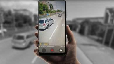 Autokamera z Android smartfonu