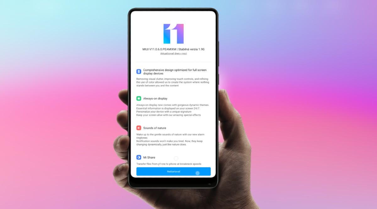 MIUI 11 Xiaomi dostupnost smartfony