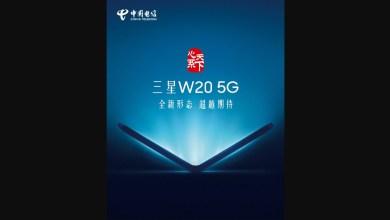 Skladatelny smartfon Samsung W20