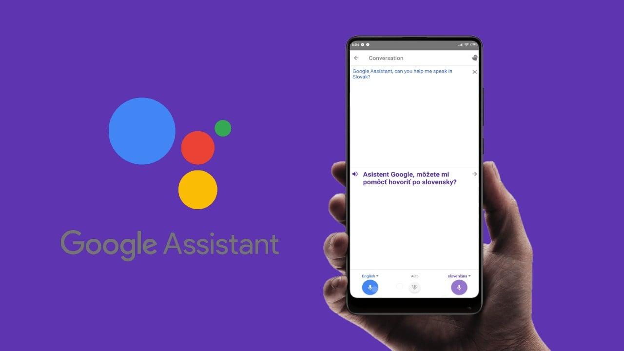 Google asistent tlmocnicky rezim