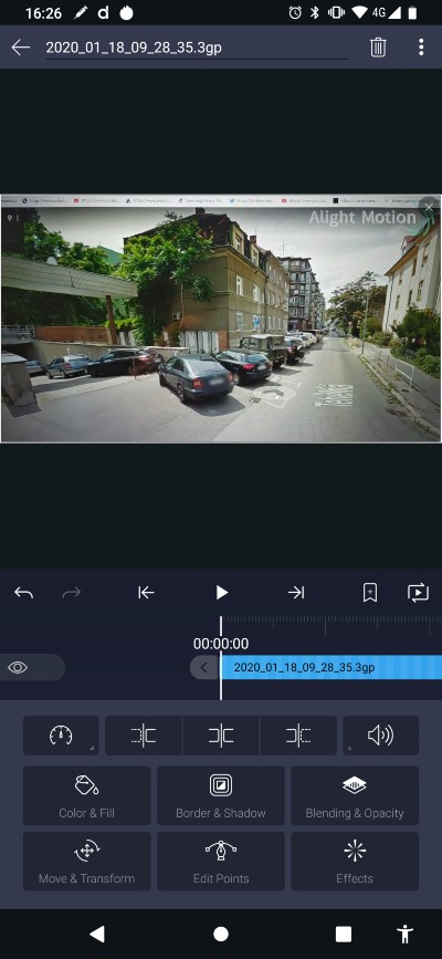 Alight Motion_video editor pre Android_1