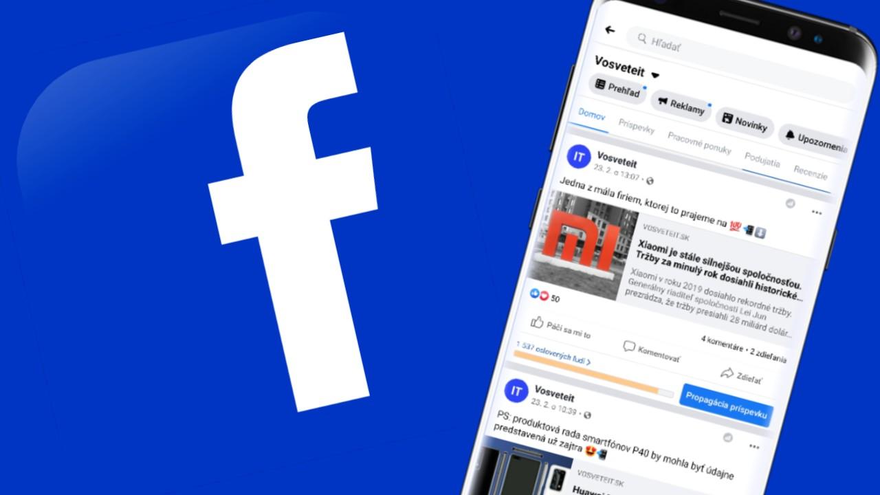 Facebook nastenka