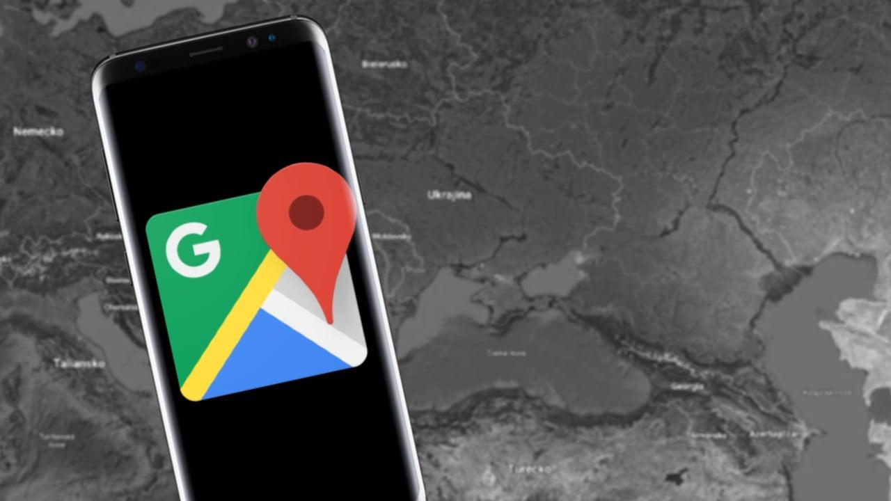Google Mapy hranice