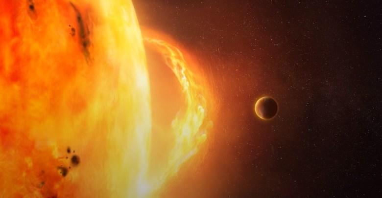 Slnko erupcia