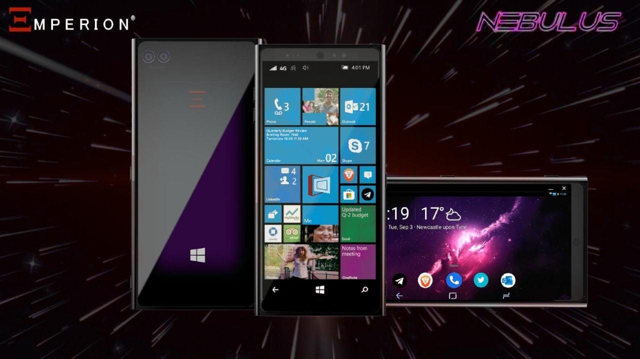 Windows 10 smartfon_Emperion Nebulus