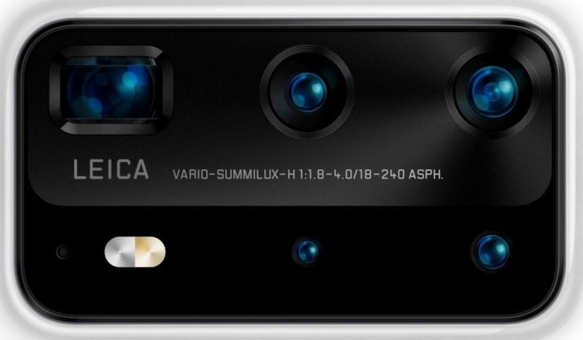 huawei p40 premium edition fotoaparat