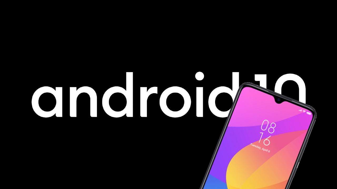 Android 10_Xiaomi Mi 9 Lite