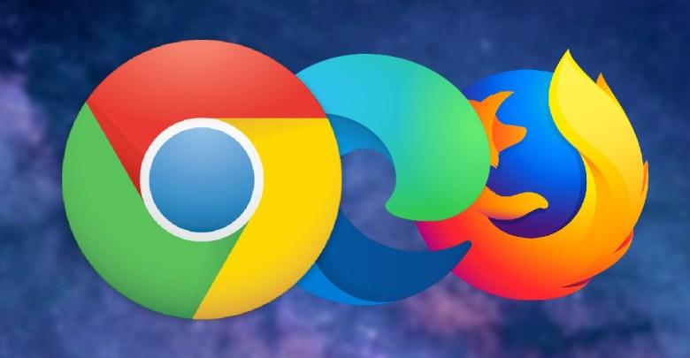 Chrome Microsoft Edge Firefox