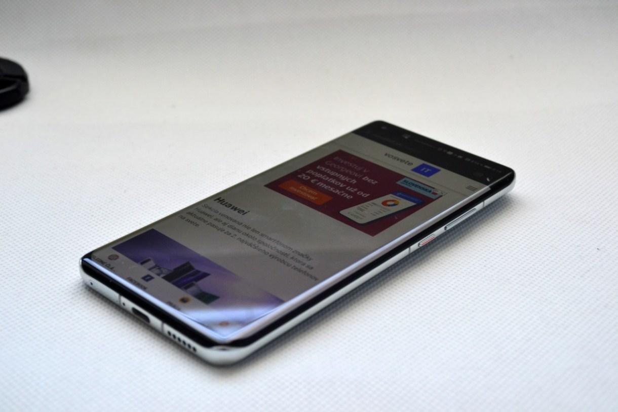 Huawei P40 Pro_displej smartfonu