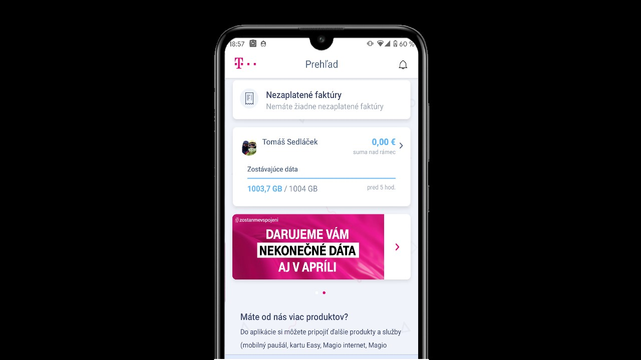 telekom nekonecne data april uvodny