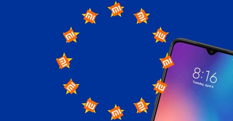 Xiaomi predaje smartfonov v zapadnej europe