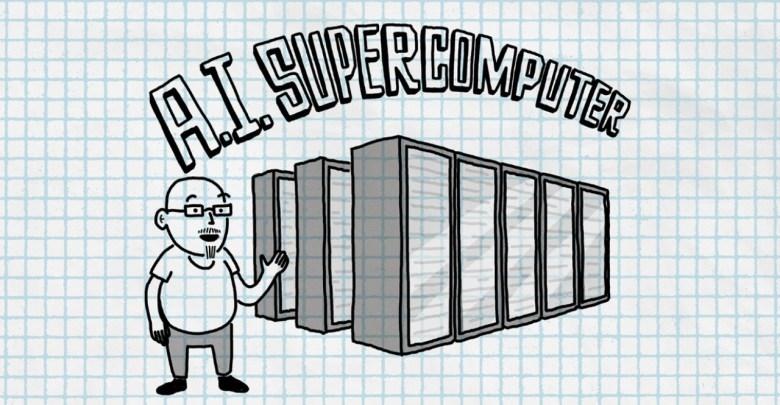 microsoft openai superpocitac