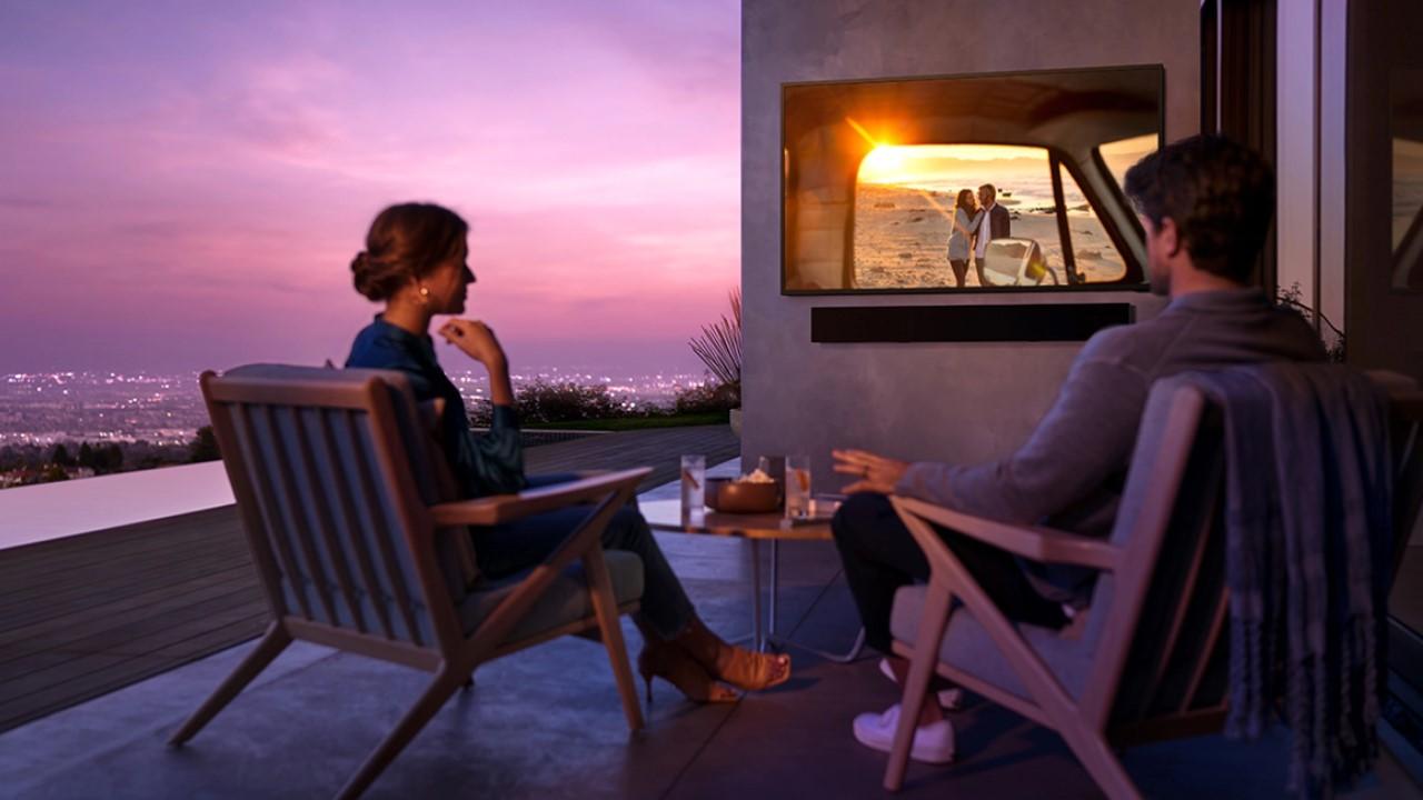 samsung the terrace televizia