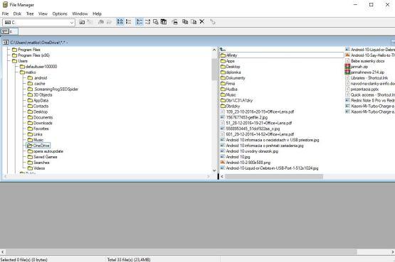 Spravca suborov z roku 1990_Windows 3.0