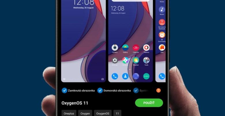 Xiaomi zmena temy
