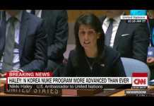 Nikki Haley to UN: Kim Jong Un is begging for war