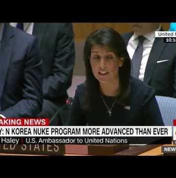 Nikki Haley to UN: Kim Jong Un is begging for war