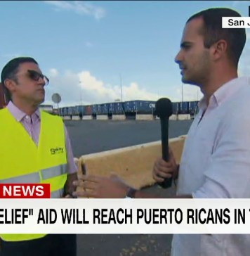UPDATE: FEMA supplies flowing to Puerto Rico, commercial containers stuck
