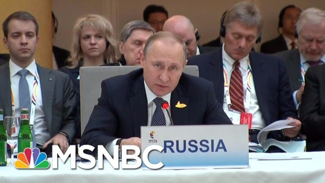 Vladamir Putin Political Rival Speaks On Putin's Political Future | Andrea Mitchell | MSNBC